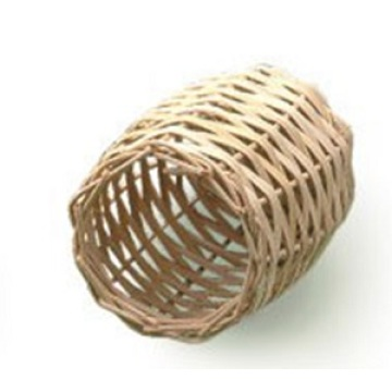 Percell Bottle Shaped Rattan Bird Nest for Birds