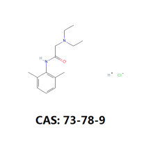 Good Quality for Anesthetic Powder Cas 73-78-9 api and intermediate export to Reunion Suppliers