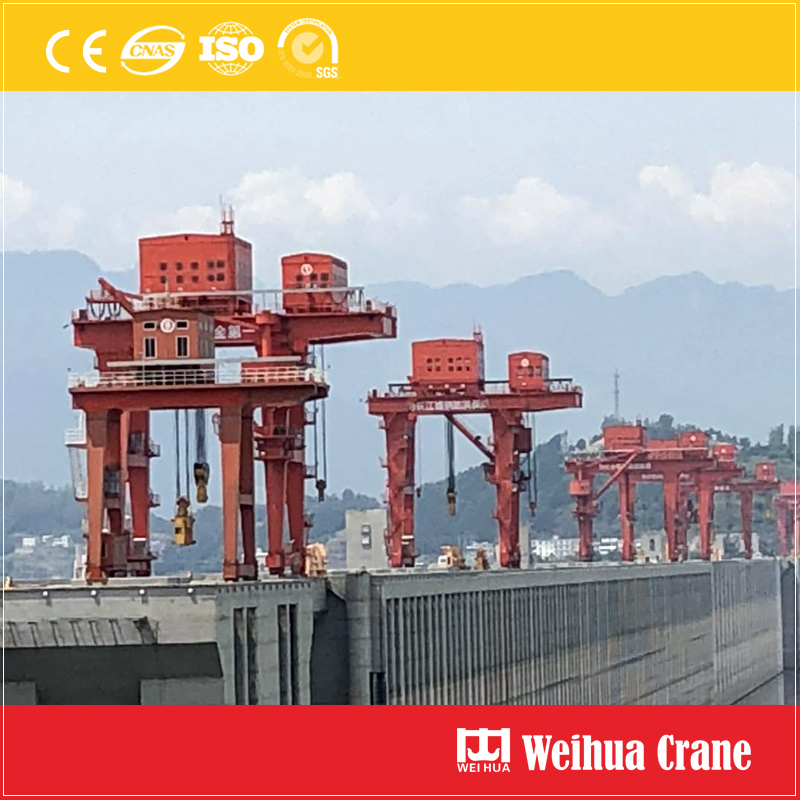 Dam Maintenance Gantry Crane