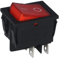 Rocker Switch Red Supplied by Ningbo Factory