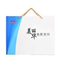 Factory making for Eco-Friendly Custom Paper Bags Portable custom-made paper bag export to Italy Supplier