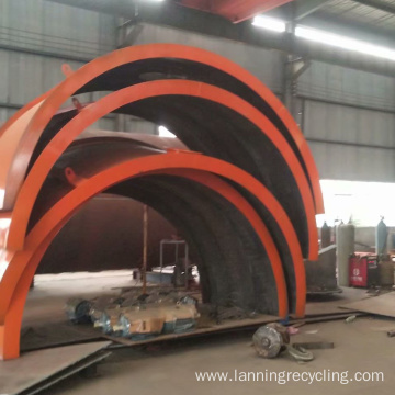 Waste Rubber Tire Recycling Pyrolysis Machines