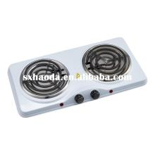 Hot sale for Spiral Hot Plate Electric Stove Electric Double Cooking Hotplate supply to France Metropolitan Exporter