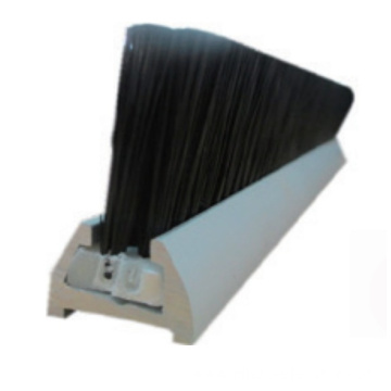 BS-1 Skirt Brush with aluminum pedestal for escalator and moving walk escalator spare part