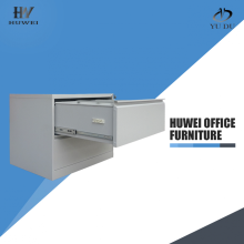 File storage steel double drawer lateral cabinet