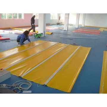 Industrial Interior PVC Fabric High Speed Door