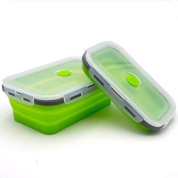 Silicone Folding Reusable Food Storage Container