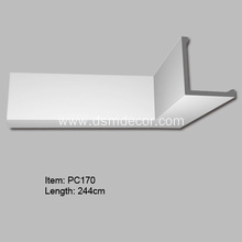 Low MOQ for Foam Indirect Lighting Boxes Polyurethane Indirect Lighting Molding export to India Exporter