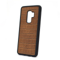 Custom Logo Crocodile Leather Phone Case for Samsung
