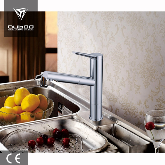 Polished Chrome Faucet Mixer Ob D06