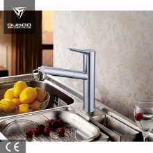 Contemporary Polished Chrome Countertop Kitchen Faucet Mixer