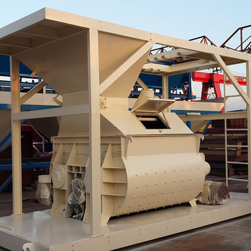 concrete mixer machine with conveyor belt