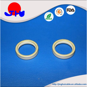 Beryllia ceramic metallized ring