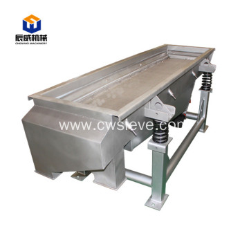 Flour sieving machine linear vibrating sifter screen