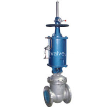 Popular Design for Motor Gate Valve Pneumatic Actuated Gate Valve supply to Malaysia Suppliers