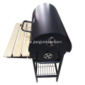 Oil Drum Charcoal Barbecue