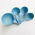 Set of 4 Plastic Measuring Cups