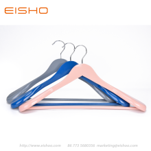EISHO Colorful Wood Suit Coat Hanger