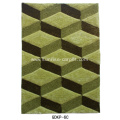 Silk & Elastic 3D with Geometry Design Rug