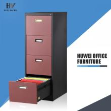 ODM for Steel Office Filing Cabinet 4 drawer file cabinet steel vertical filing cabinets supply to Nauru Wholesale