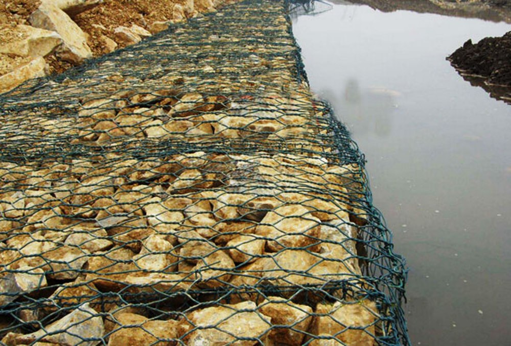 Rock Cage Hex Gabion