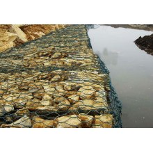 Discount Price Pet Film for Woven Gabion Baskets Hexagonal Gabion Wire Neting Safety Protection supply to Peru Suppliers