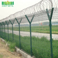 Hot Selling Security PVC coated Airport Fence