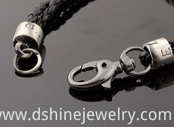 Leather Cord Male Pendants Necklace