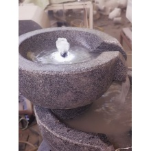 Supplier for Outdoor Stone Fountains G654 dark grey granite fountain supply to Netherlands Manufacturer