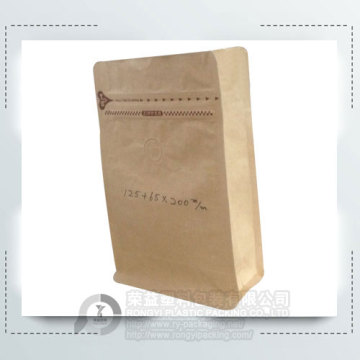 250g Flat Bottom Coffee Bag with Value