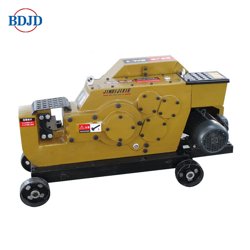 Manual thread rebar cutting machine for bar cutted
