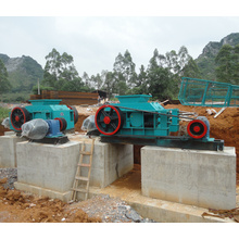 100% Original Factory for Stone Roller Crusher Mineral Ore Salt Clay Double Roller Crusher export to Indonesia Factory