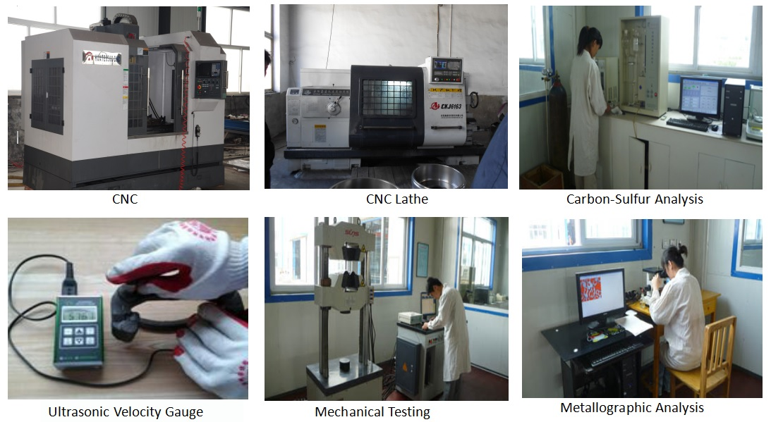 Machining and Inspection Equipment