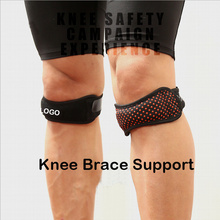 Wholesale Price for China Knee Strap,Brace Strap Knee,Elastic Knee Straps Supplier High quality silicone rubber antiskid knee support belt export to South Korea Factories