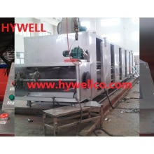 Continuous Belt Type Dryer for Hazelnut