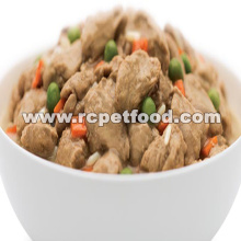 high quality chicken and vegetables wet dog food