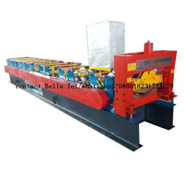 2018 popular ridge cap roll forming machine