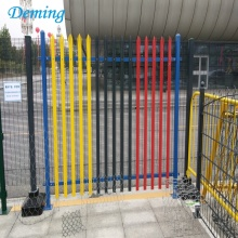 Factory PVC Coated D and W Palisade Fence for Sale