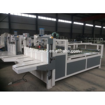Semi-automatic Corrugated Box Folder Gluer Machine