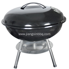 China for Charcoal BBQ Grill 14'' Portable Round Easy Assembled Charcoal BBQ Grill supply to Netherlands Importers