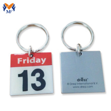 Good Quality for Hotel Keychain,Custom Printed Keychains,Keychain Printing Manufacturers and Suppliers in China Stainless iron custom letter logo print keychain supply to Yugoslavia Suppliers