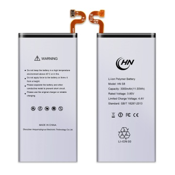 Lithium polymer battery ho an'ny Samsung Galaxy S8