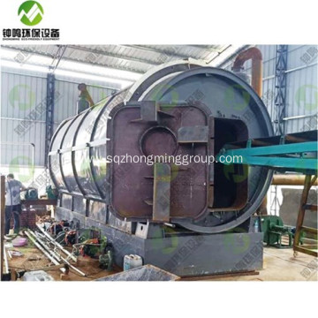 Waste Tyre to Oil Recycling Process Technology