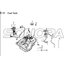F-11 Fuel Tank JET 14 XS175T-2 For SYM Spare Part Top Quality