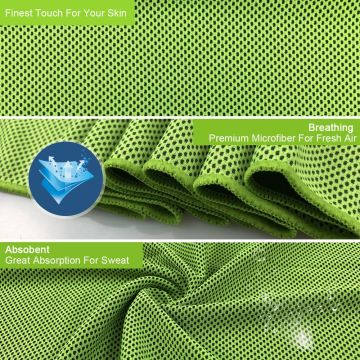 Digitek 4 pcs Cooling Sports Daily Microfiber Towels