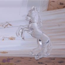 Top for Diamond Pendant Hand Made Decorative Crystal Glass Horse export to China Taiwan Manufacturers