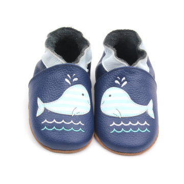 Multi Styles Cute Pattern Soft Leather Infant Shoes