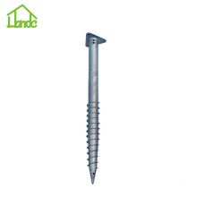 Durable Triangle Ground Screw Pile