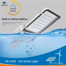 Top Suppliers for China Led Street Light,Led Solar Street Light,Led Road Street Light Supplier DELIGHT DE-AL05 Battery Built-in Solar Light Fixtures supply to Cook Islands Factory