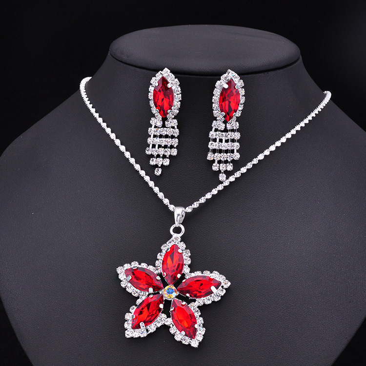 New fashion flower girl jewelry set